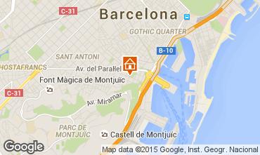 Mappa Barcellona Monolocale 92054