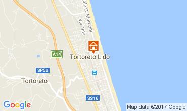 Mappa Tortoreto Appartamento 110561