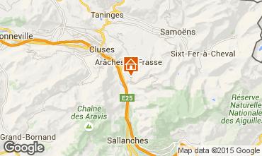 Mappa Les Carroz d'Araches Chalet 90862
