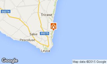 Mappa Santa Maria di Leuca Appartamento 51532