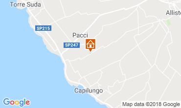 Mappa Alliste Villa  117497