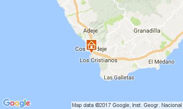 Mappa Playa de las Américas Appartamento 111248