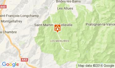 Mappa Les Menuires Chalet 91424