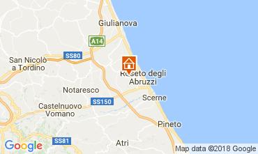 Mappa Roseto degli Abruzzi Appartamento 72327