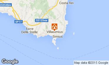 Mappa Villasimius Appartamento 78817