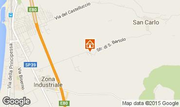 Mappa San Vincenzo Appartamento 100332