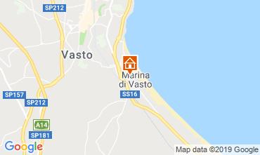 Mappa Vasto Appartamento 43596