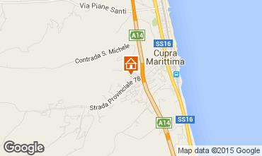 Mappa Cupra Marittima Appartamento 45448