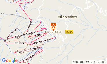 Mappa Le Corbier Monolocale 106601