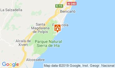 Mappa Peñíscola Villa  118036