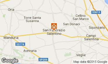 Mappa Porto Cesareo Appartamento 81073