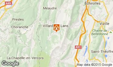 Mappa Villard de Lans - Corrençon en Vercors Agriturismo 3696