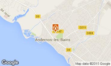 Mappa Andernos les Bains Appartamento 62761