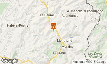 Mappa Saint Jean d'Aulps- La Grande Terche Monolocale 43163
