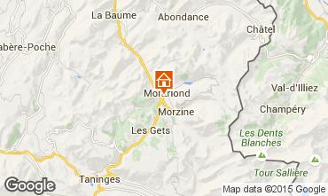 Mappa Morzine Chalet 1962