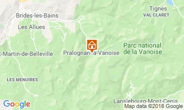 Mappa Pralognan la Vanoise Appartamento 38850