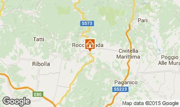 Mappa Roccastrada Villa  55549
