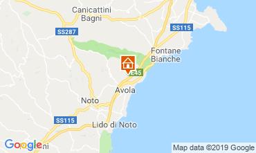 Mappa Siracusa Villa  118105