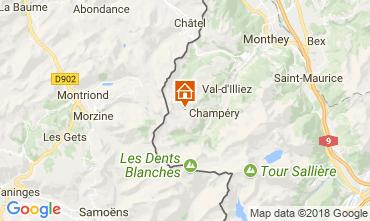 Mappa Les Crosets Appartamento 33579