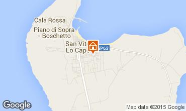 Mappa San Vito lo Capo Appartamento 95669