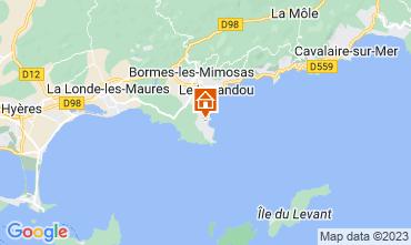 Mappa Bormes Les Mimosas Villa  82175