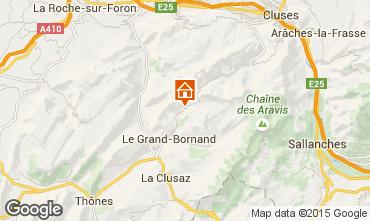 Mappa Le Grand Bornand Chalet 1363
