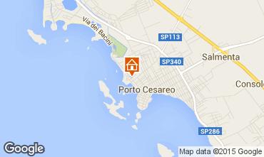 Mappa Porto Cesareo Appartamento 70791