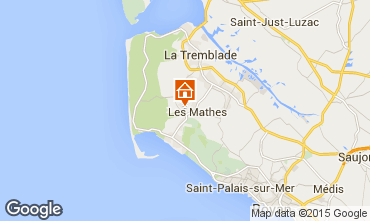 Mappa Les Mathes Casa mobile 96192