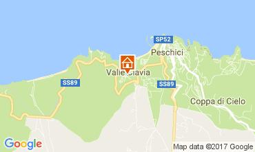 Mappa Peschici Appartamento 108992