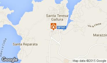 Mappa Santa Teresa di Gallura Appartamento 99028