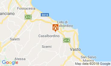 Mappa Casalbordino Villa  106607