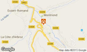 Mappa Morzine Chalet 21894