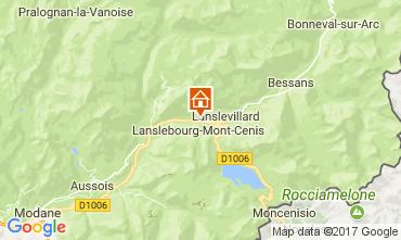 Mappa Val Cenis Appartamento 92268
