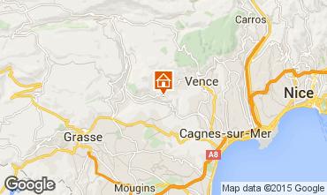 Mappa Vence Villa  96174
