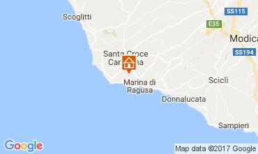 Mappa Marina di Ragusa Appartamento 109156