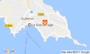 Mappa Quiberon Appartamento 107688