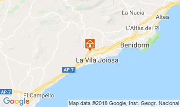 Mappa Benidorm Villa  97736
