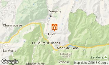 Mappa Alpe d'Huez Monolocale 38943