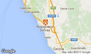Mappa Castiglioncello Appartamento 77876