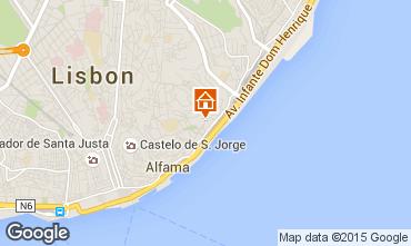 Mappa Lisbona Monolocale 55576