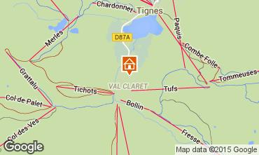 Mappa Tignes Monolocale 101542