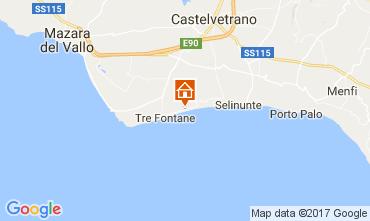 Mappa Tre Fontane Appartamento 107968
