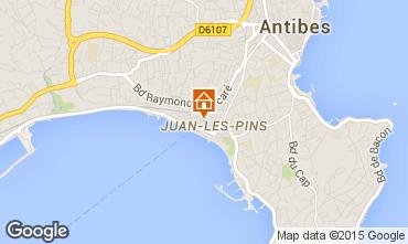 Mappa Juan les Pins Appartamento 78148