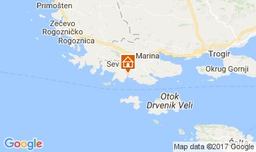 Mappa Traù (Trogir) Casa 112576