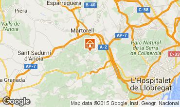 Mappa Barcellona Villa  85228