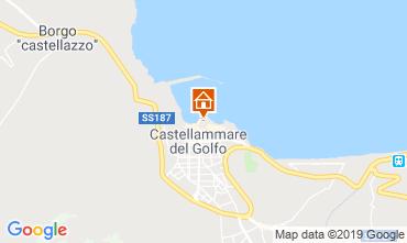 Mappa Castellammare del Golfo Appartamento 80207