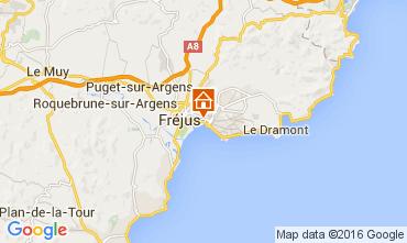 Mappa Fréjus Appartamento 104120