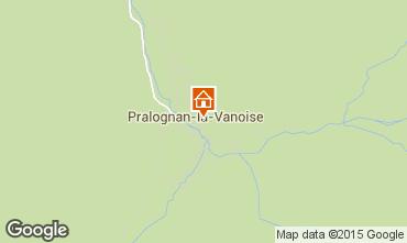 Mappa Pralognan la Vanoise Appartamento 93265