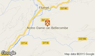 Mappa Notre Dame de Bellecombe Appartamento 97632