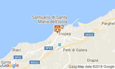 Mappa Tropea Appartamento 113270